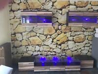 Hifi Gaming Video TV Entertainment Furniture with LED lighting