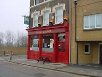 Live-in joint management couple required to run Royal George, 8 Tanners Hill, London SE8 4QD