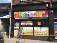 Dessert shop in stoke town centre
