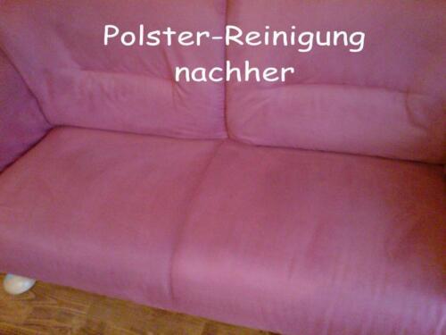 Sofa-Reinigung,Polsterreinigung, Teppichbodenreinigung,Matratzen ...