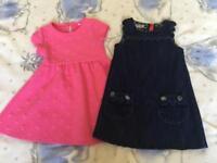 Girls dresses aged 2-3yrs
