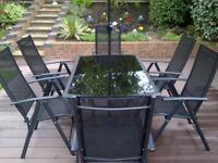 Santorini 8 piece garden furniture set