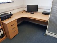 Office Furniture Set for Sale - Available Individually on Request