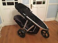 Phil & Teds Double buggy 'Vibe' + accessories. hardly used, great condition.
