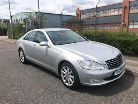 ***MERCEDES BENZ S320 CDI FULL SERV HISTORY JUST BEEN SERVICED+HEATED LEATHER+DRIVES LOVELY***£5990!