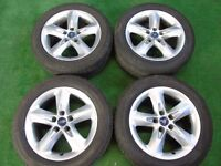 "FORD FOCUS, GALAXY, MONDEO,TRANSIT CONNECT, C-MAX, S-MAX 16"" ALLOY WHEELS"