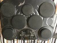 DIGITAL ELECTRONIC PERCUSSION DRUM KIT WITH 7 DRUM PADS - reduced for quick sale