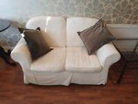 2 x Sofa- 2 seater suite