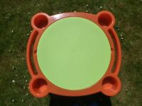 3 in 1 Easy store Sand/Water/ Play Table with Lid.