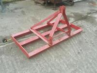 Tractor three point linkage land leveller grader in great condition