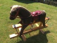 Childs rocking horse about 30 years old