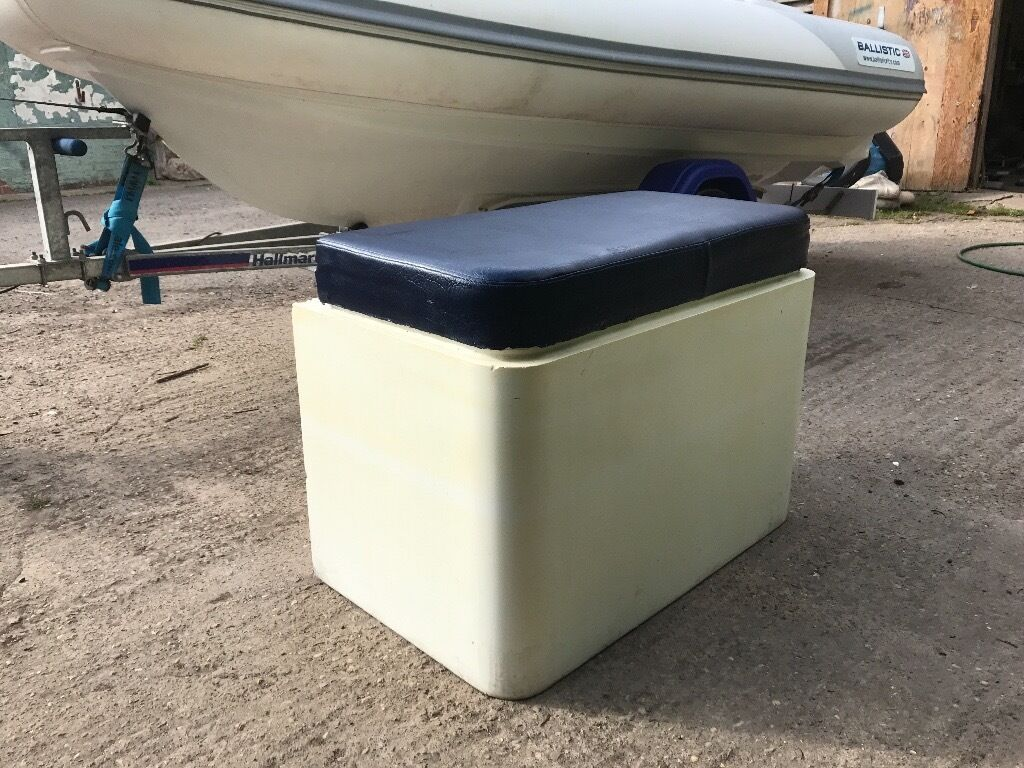Bench Storage Console Seat Cushion For Rib Rigid Inflatable Boat Grp Project