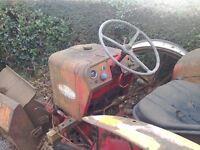 International 414 tractor braking