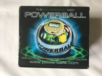 All Original NSD Powerball 250Hz Pro Blue Gyroscope, boxed, grip strengthener