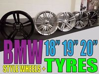 4 NEW BMW ALLOY WHEELS FOR SALE E92 E60 F30 F10 X5 X6 M3 Z4 1 3 5 6 7 SERIES