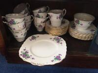 50 year old tea set