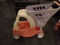 Little tikes baby shopping cart