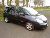 2005 Renault Espace Expression 2.2 Dci. 7 Seats. Manual.