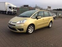 2007│Citroen Grand C4 Picasso 1.6 HDi 16v VTR+ EGS│2 Former Keepers│2 Keys│Full MOT His│1 Year MOT
