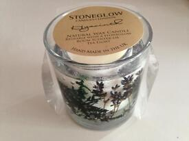 Stoneglow Scented Candle & Tumbler - hyacinth