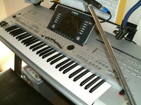 Yamaha Tyros 4 mint (Poss Take a Yamaha 910/950/970 Plus Cash)