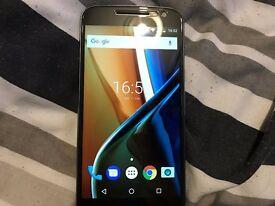 Motorola moto g 4th gen 16gb + extra's like new
