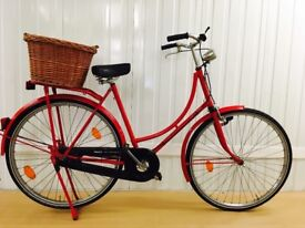 Mint Amsterdam Bike, Nexus Hub Gears, Low Step Through, Full mudguards, Medium, New basket