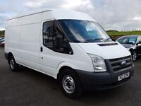 2008 ford transit lwb psvd oct 2017 1 owner from new tidy big van through out
