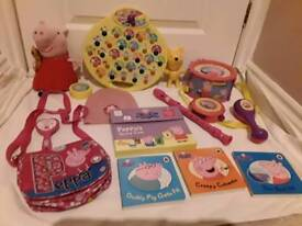 Pepper pig bundle of great items in exellent condition