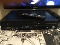 Panasonic VHS to DVD recorder