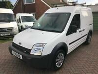 Only 85K NO VAT (56) Ford Transit Connect LWB H/T T230L 90BHP 1.8TDCI Brand New Ply-Lining Roof Rack