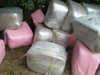 AA haylage big or small bales £2.50 and £10