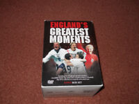 England's Greatest Moments 8 DVD Box Set - Football