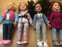 Designer friends dolls and clothes
