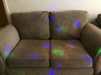 Nearly new 2-4 seater sofa. In excellent condition!