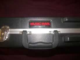 MusicMan / Music Man Guitar Hard Case for Silhouette , Sterling and Silo Electric Guitar.