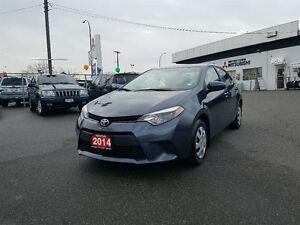 2014 Toyota Corolla CE; Local, No accidents, Low KM