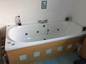 Jacuzzi bath, sink & shower for sale