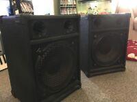 pa dj speakers