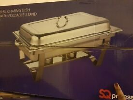 Chafing dishes for rental with 2 fuel tin