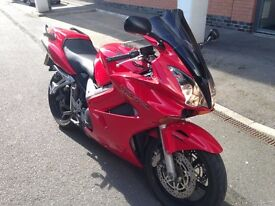 Honda VFR 800 vtec. Best priced VFR and well worth it.