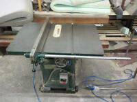 Wadkin 10AGS Table Saw Single Phase 16amp