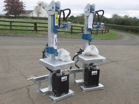 Log splitter, 10, 13 & 16T models, pto, engine and hydraulic options, log holder