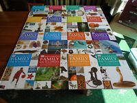"""COMPLETE HARD BACK SET of 16 VOLUMES of """"ILLUSTRATED FAMILY ENCYCLOPEDIAS"""" in EXCELLENT CONDITION"""