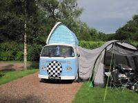 VW T2 Campervan 1973. Tax exempt. MOT July 2017. RHD. Extensively restored inside and out 2014.