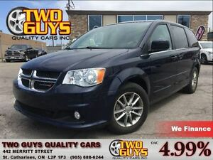 2015 Dodge Grand Caravan SXT PLUS | NAV | DVD | ALLOYS | PWR SLI