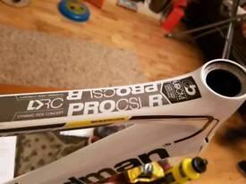 Boardman carbon fibre road frame