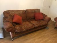 Free Two and three seater sofa