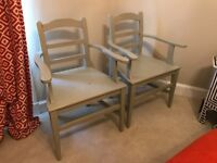Antique Hungarian Carvery Chairs