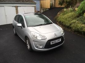 CITROEN C3 VTR 1.4 DIESAL - LOW MILEAGE - 1 LADY OWNER - FULL SERVICE HISTORY - EX.COND - SILVER